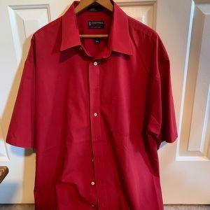Men's Stanford Red Dress Shirt Size 18 1/2
